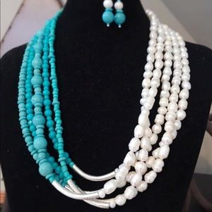 Handmade by me-Necklace and earrings